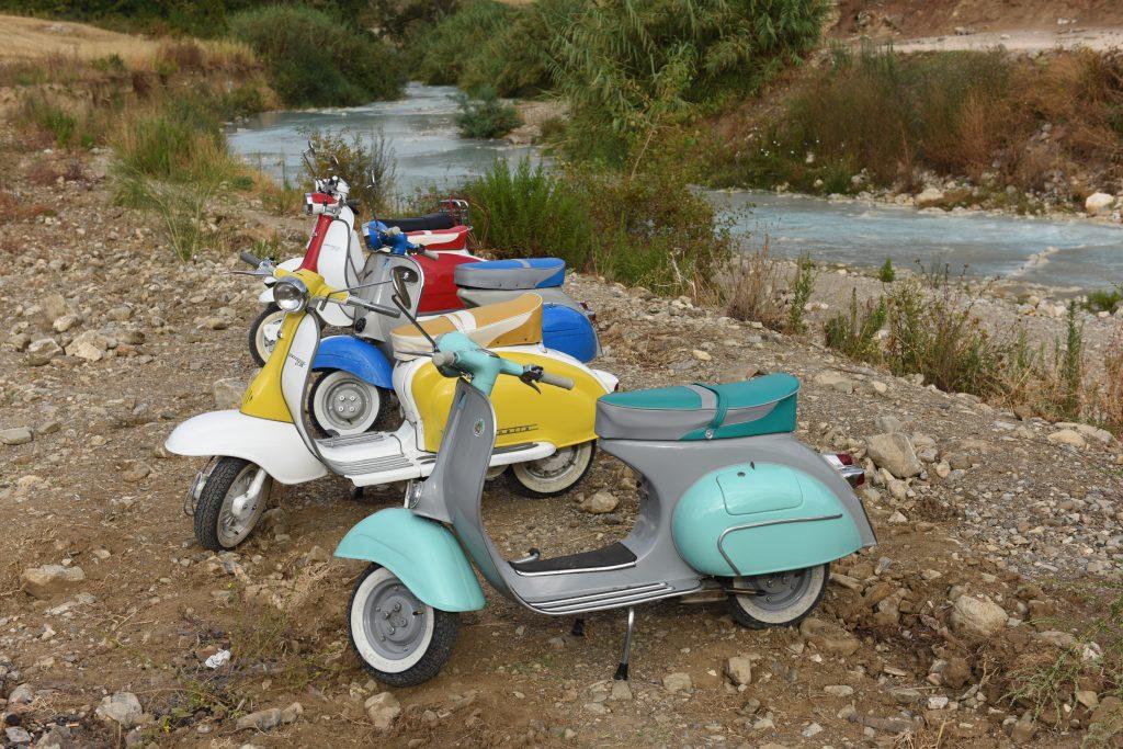 Noleggio scooter e moto d'epoca in Maremma